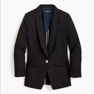 FIRM / NWT J.Crew unstructured jacket cotton-linen